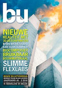 Cover magazine Bouw en Uitvoering 2-2016