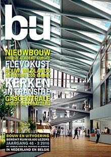 Cover magazine Bouw en Uitvoering 3-2016