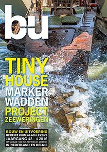 Cover magazine Bouw en Uitvoering 4-2016