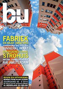 Cover magazine Bouw en Uitvoering 5-2016