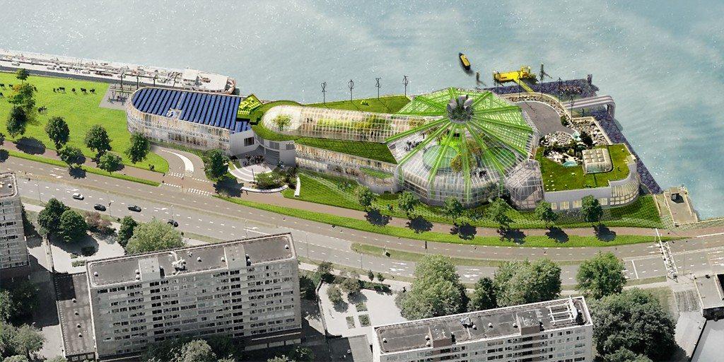Het leegstaande zwembad Tropicana wordt een laboratorium voor duurzame business cases