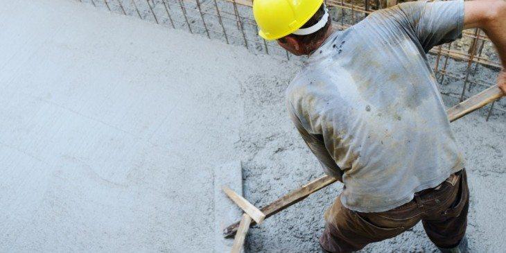 Betontekort in de bouw