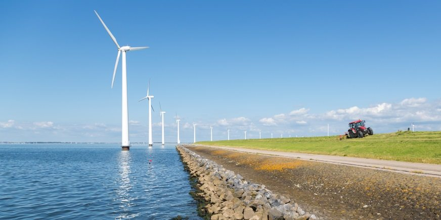 Recordaantal windmolens gebouwd in 2015