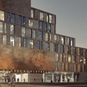 Nieuwbouw Hogeschool Utrecht in zomer van start