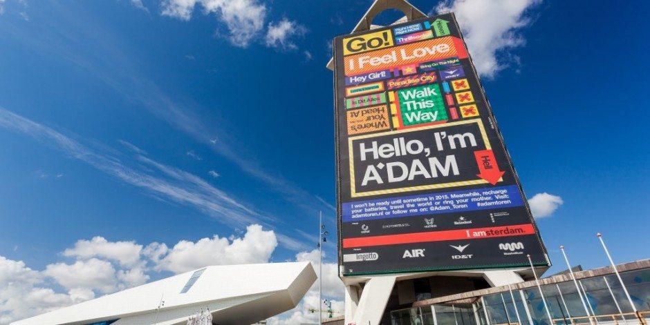 A'DAM Toren nieuwste Amsterdamse attractie