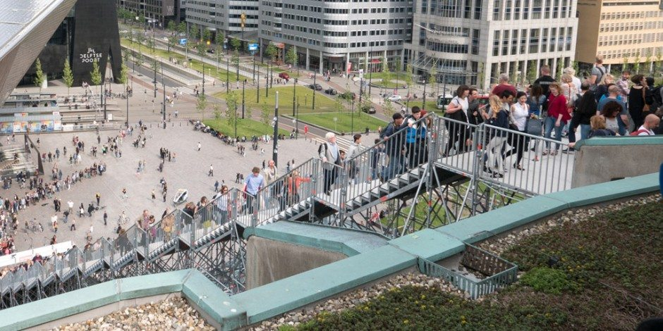 Rotterdamse Dakendagen geopend op Groot Handelsgebouw