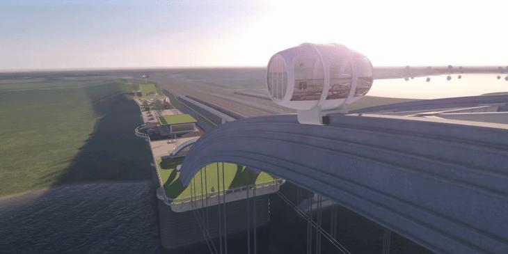 Opmerkelijk idee landschapsattractie Viaansebrug