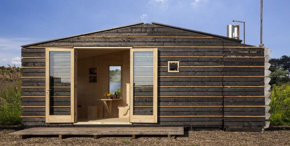 Winnaars Bouw Expo aan de slag met bouw Tiny House