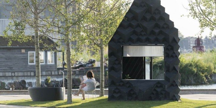 Urban Cabin een tiny house als stedelijk rustpunt