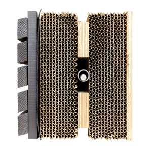 Wikkelhouse - Huis van 24 lagen karton Beeld: Fiction Factory