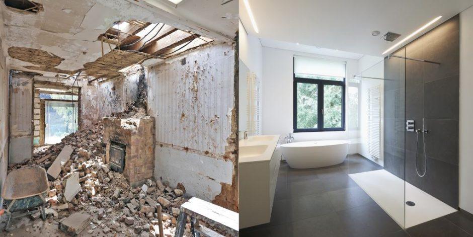 Snelle Renovatie Badkamer : Challenge badkamerrenovatie in één dag bouw en uitvoering