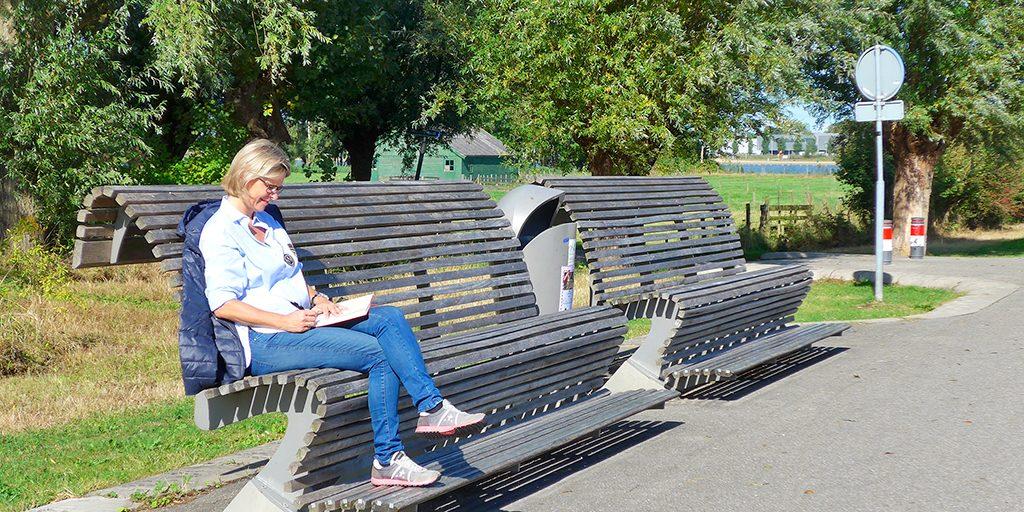 Máximapark Parkmeubilair Bron Tanja Veenstra