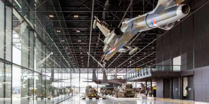 Nationaal Militair Museum wint Nationale Staalprijs 'Utiliteitsbouw'