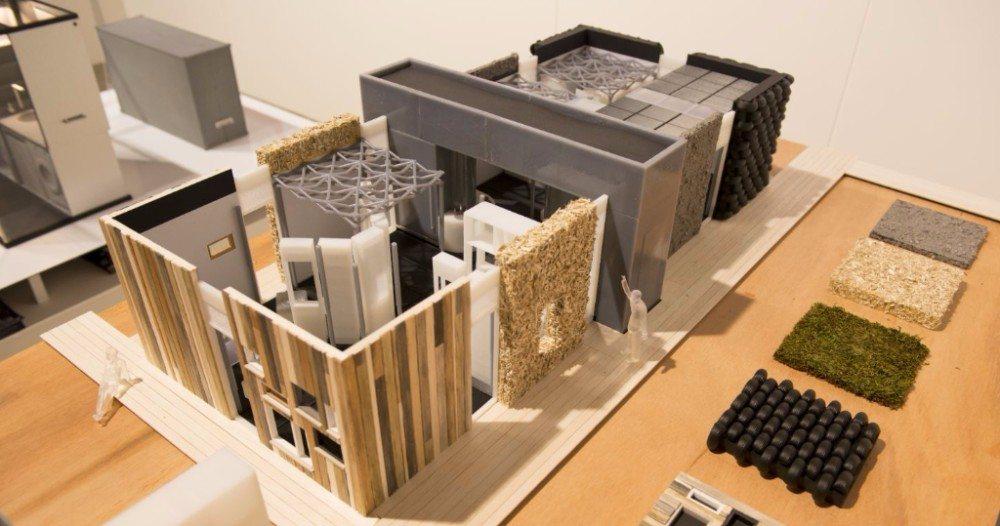 Nieuw bouwsysteem laat asielzoekers eigen huis in elkaar zetten bouw en uitvoering - Nieuw huis binneninrichting ...