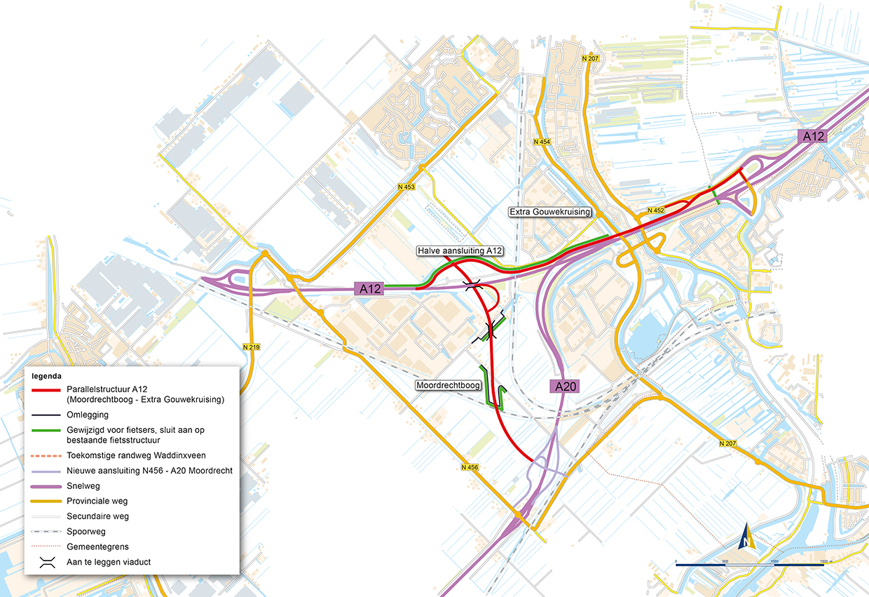 Parallelstructuur-A12 BRON Provincie Zuid-Holland en Heijmans