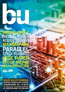 Cover magazine Bouw en Uitvoering 6-2016
