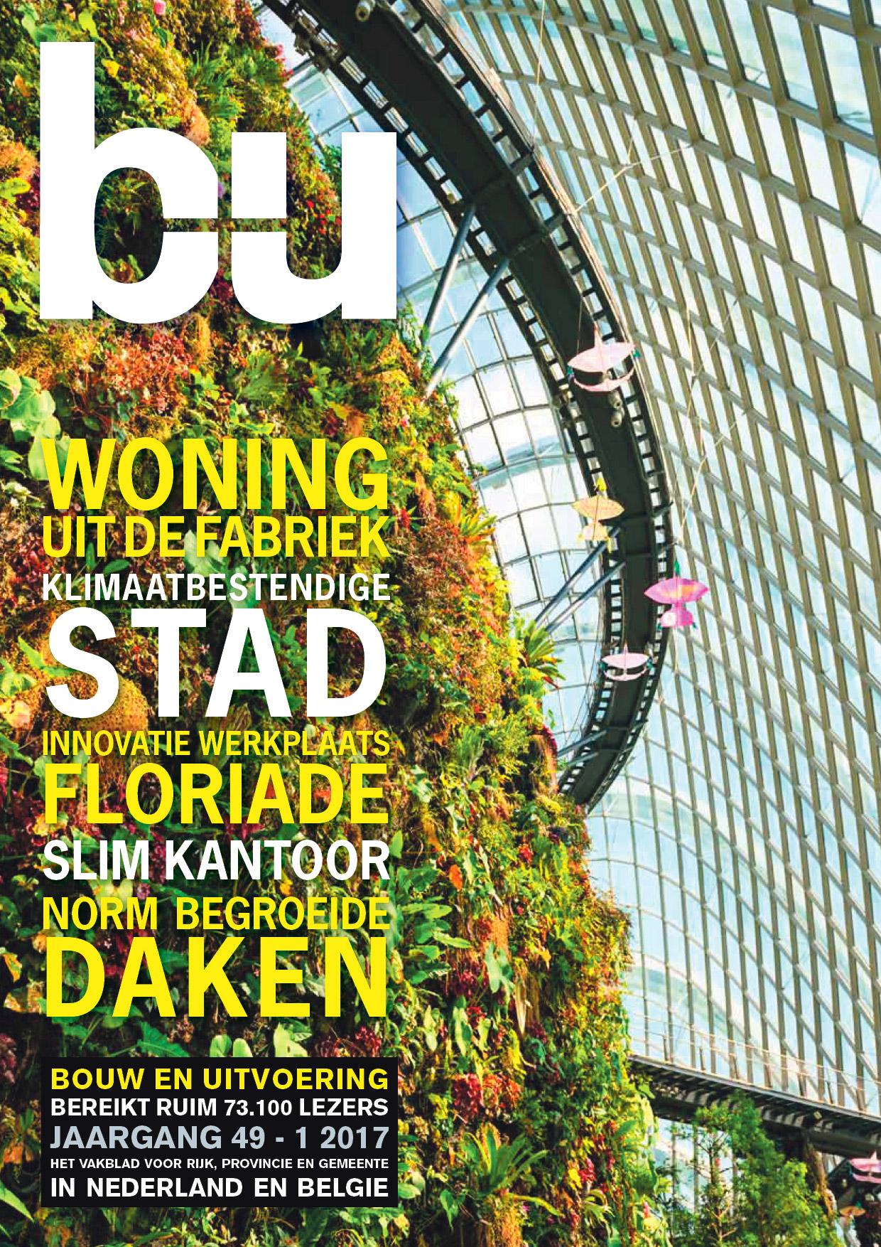 Cover magazine Bouw en Uitvoering 1-2017