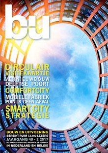 Cover magazine Bouw en Uitvoering 2-2017