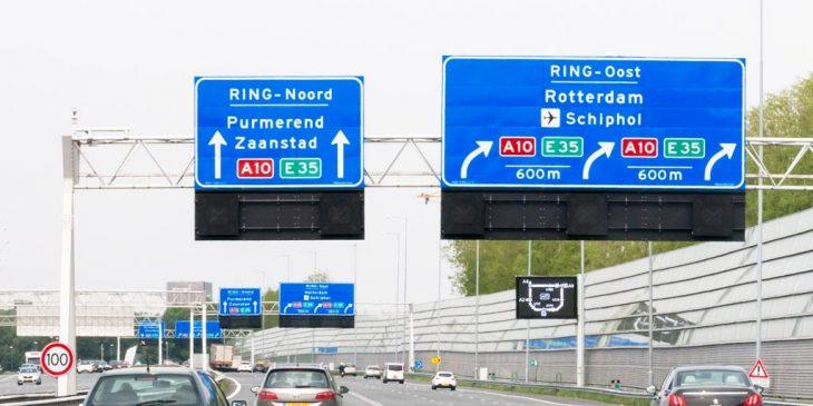 A10 West verkeershinder door onderhoud