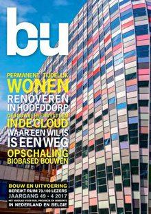 Cover magazine Bouw en Uitvoering 4-2017