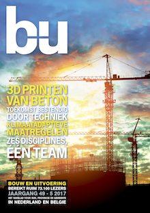 Cover magazine Bouw en Uitvoering 5-2017