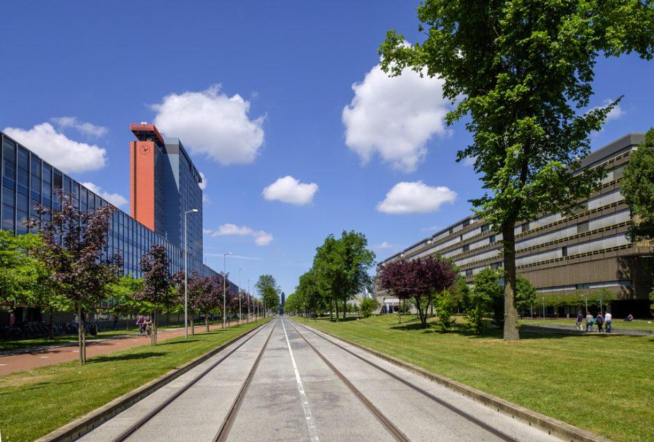 Gebiedsvisie voor het hart van de TU Delft
