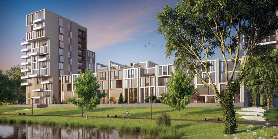 Grootste leegstaande kantoor (CBS)gebouw van NL wordt duurzame woonwijk