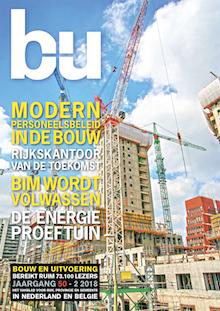 Cover magazine Bouw en Uitvoering 2-2018