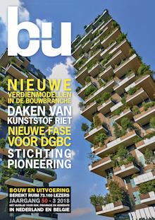 Cover magazine Bouw en Uitvoering 3-2018