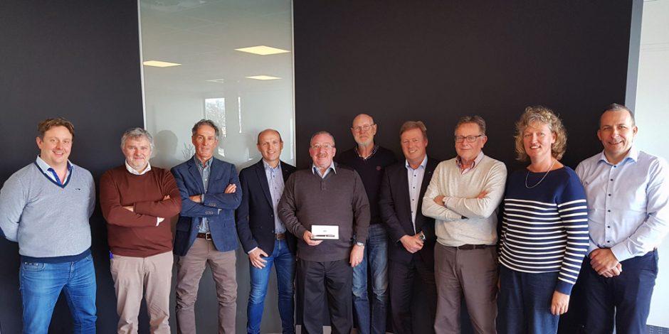 Na 23 jaar een voldaan afscheid Christian Heyvaert (VESP)