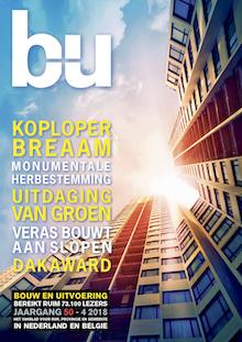 Cover magazine Bouw en Uitvoering 4-2018