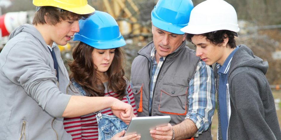 Help jongeren de bouw in!