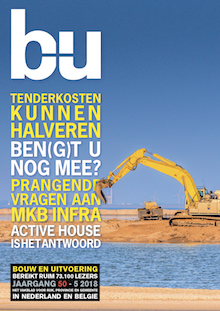 Cover magazine Bouw en Uitvoering 5-2018