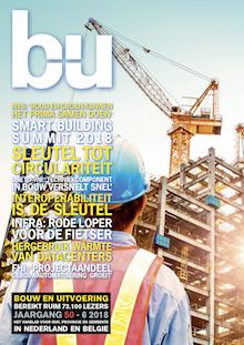 Cover magazine Bouw en Uitvoering 6-2018