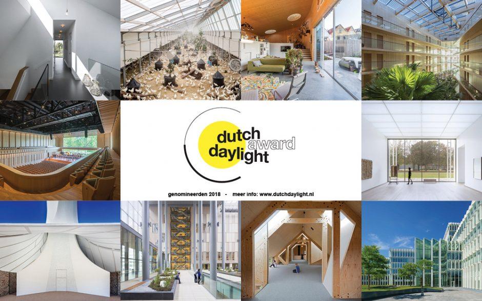 Nominaties Dutch Daylight Award 2018 bekend