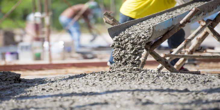 Extreem laagwater drijft betonprijs op