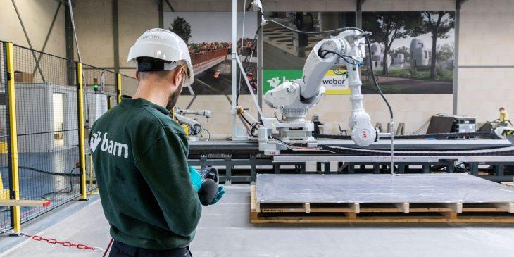 3D betonprintfaciliteit geopend