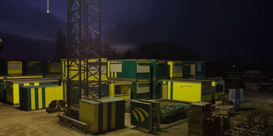 Nieuw prototype bouwkeet voor Dura Vermeer Railinfra