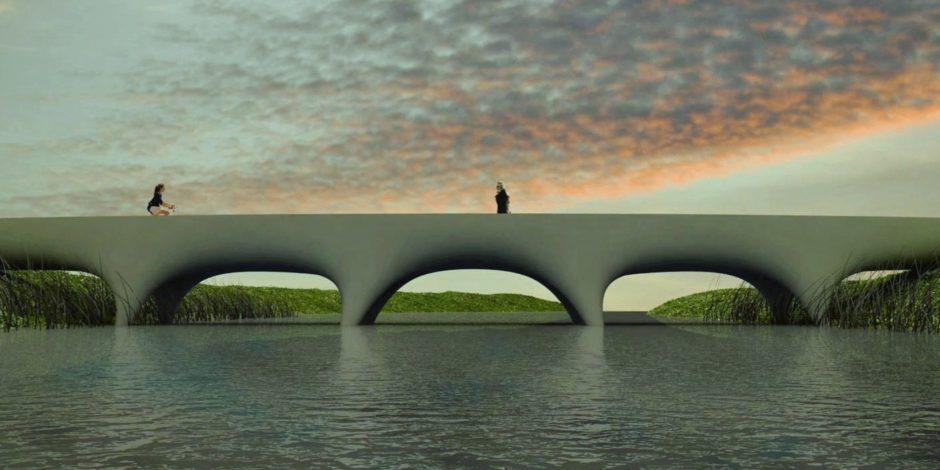 Langste 3D-geprinte voetgangersbrug ter wereld