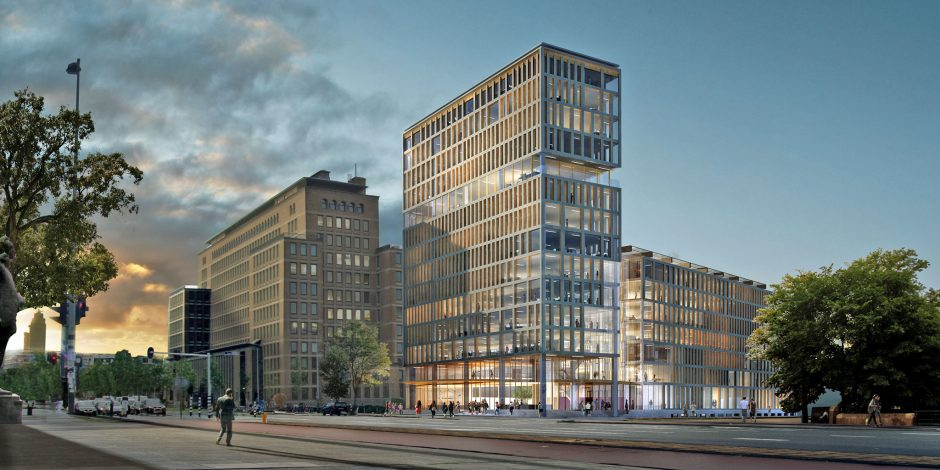Conradhuis, toparchitectuur in slimste straat Amsterdam