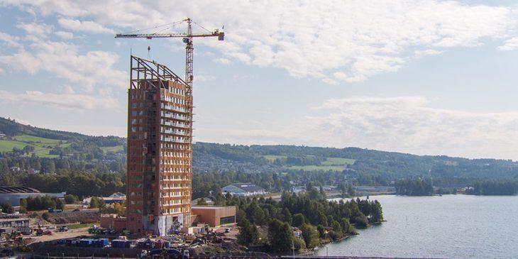 Hoogste houten gebouw ter wereld