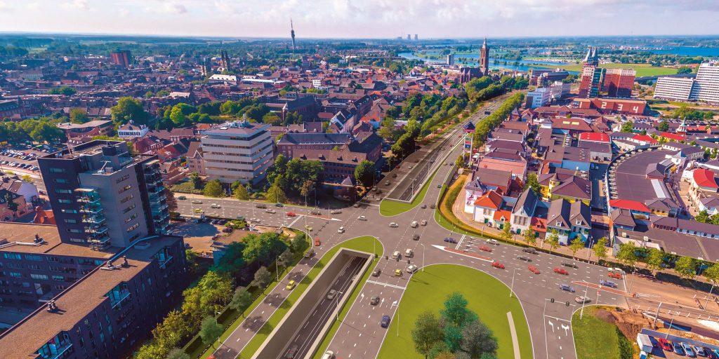 N280 Roermond grootschalige reconstructie (artikel)