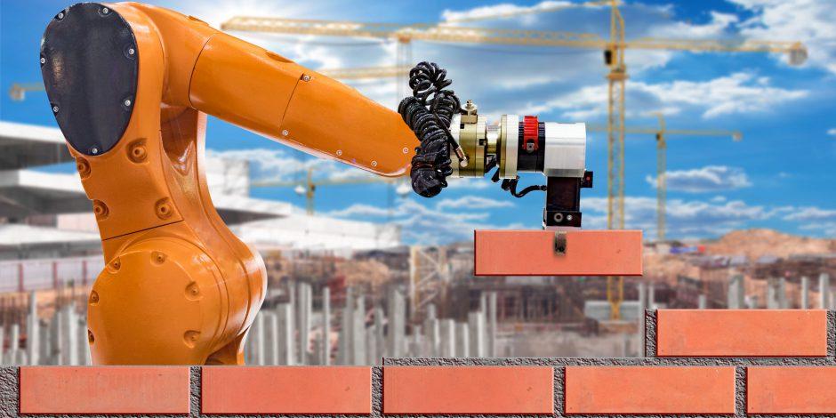 Robotisering in de bouw, Robots