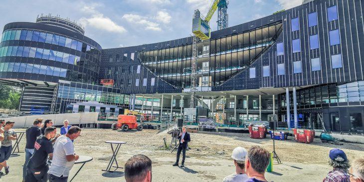 AFAS Leusden nieuwbouw complex, maar uitdagend
