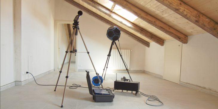 Norm voor meten van geluidwering in gebouwen