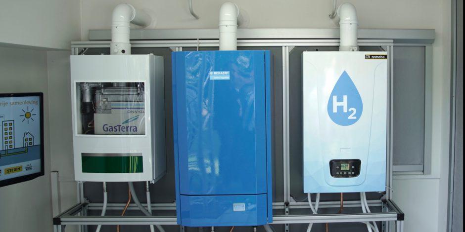 Eerste hr-ketel op waterstof