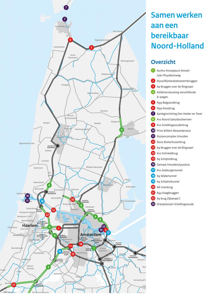 Grote onderhoudsopgave in Noord-Holland van start 1
