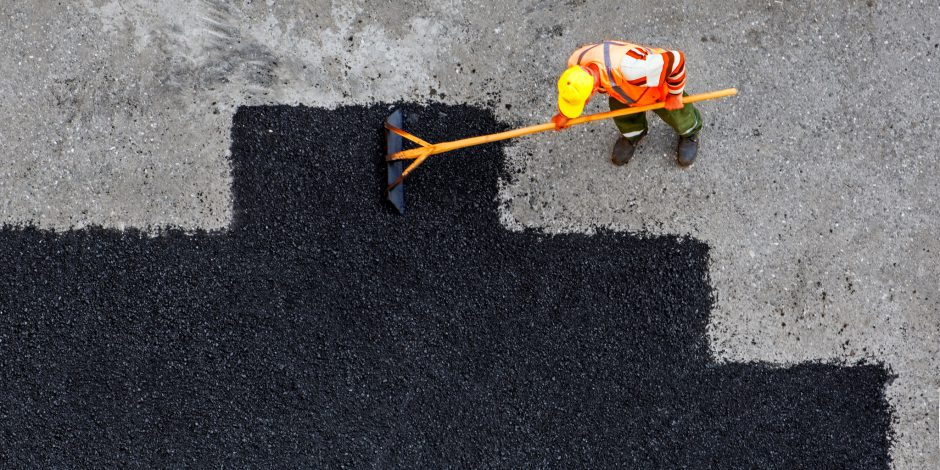 CO2-reductie door honderd procent gerecycled asfalt