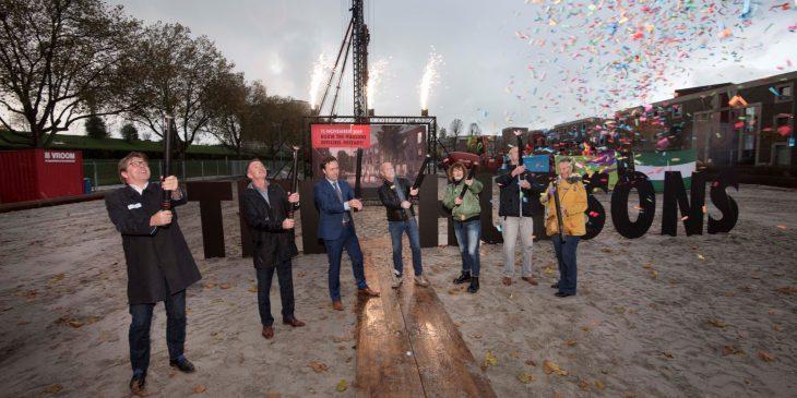 Bouw van Rotterdamse stadswoningen The Hudsons gestart